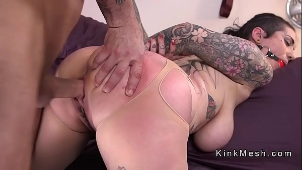Monster tits, Anal slave