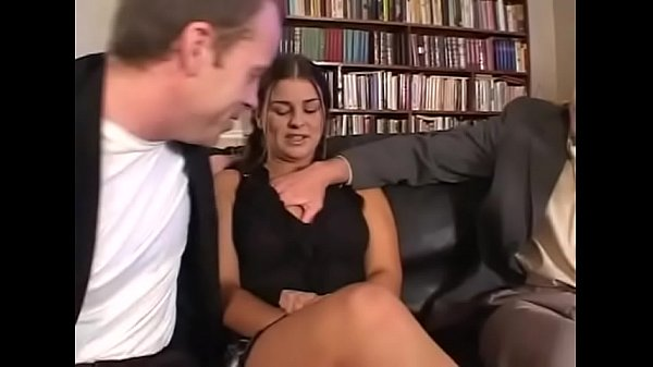 Young girl, Anal dp