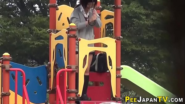 Asian public, Teen asian, Public piss