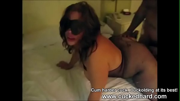 Wife bbc, Blindfolded, Blindfolded wife