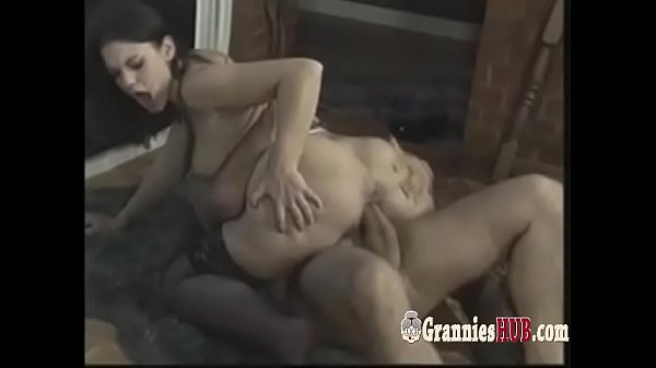 Granny anal, Anal creampie, Orgy